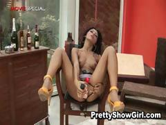 Big-busted hot indian babe working on a big part5