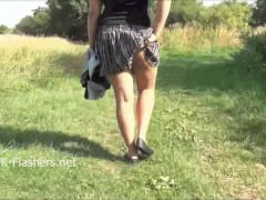 Indian amateur Kikis public nudity and outdoor execration be useful to chunky