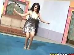Indian Dancer Badinage Her Tits