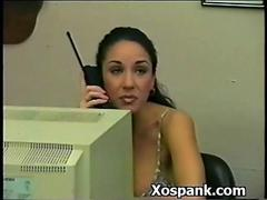 Bdsm Whore Spanked In Booty