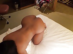 Wife blowjobs  with an increment of fucked in doggy style