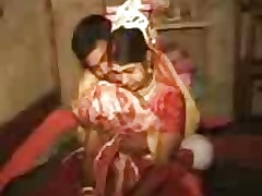 real sex with wife usurped by his friend at one's disposal marriage night