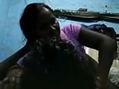 Desi Widow Granny Aunty fucked wide of her suitor (Hindi Audio)