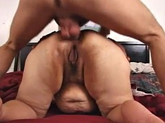 latina bbw granny unchanging anal queefing