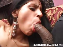 Hardcore sex be worthwhile for indian slut fucked far group triad