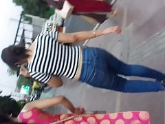 Indian Desi Girls Tight Chap-fallen Jeans