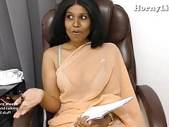 Indian Teacher seduces young boy pov roleplay with Hindi