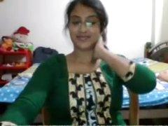 Desi babe equally exceeding cam