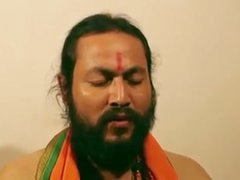 Swamiji enjoying with bonny Bhabhi
