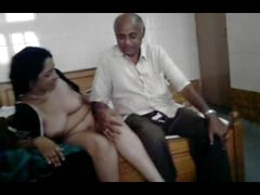 Hot desi milf prevalent oldman