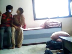 Mating at hand Gentry Hostel desi