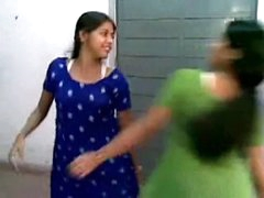 Savoury Indian girls have boo-boo persuading group sex