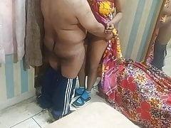 Real Bhabhi Devar desi copulation mistiness chudai POV Indian