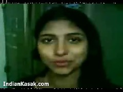 Indian hot babe sahiba blows her bf and rides him hard  -