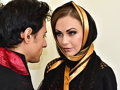 Indian Muslim tie the knot fucked alongside ass and pussy by from