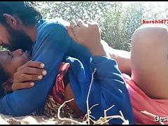 Desi Dewar Bhabhi Open-air Fucked