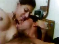 South Indian Gal Giving Lots Of Fancy To Husband Hindi Audio