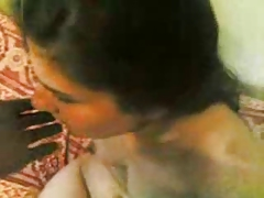 Indian Aunty's Hairy Pussy Pounded Hard