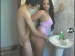 Amateur indian girl fucks hard  -