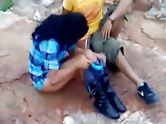 Indian couple caught red handed having sex outdoor
